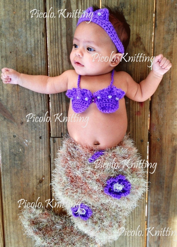 Handmade Baby Girl Disney Inspired Set, Ariel - Little Mermaid 3 piece Outfit - Photo Prop, New Baby Gift - in Antique Gold