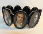 Famous Vampires Bracelet Altered Art Dracula Eric Bill Lestat Louis Edward Spike