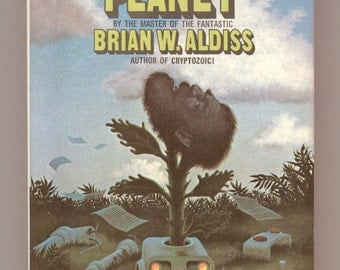 Neanderthal Planet by Brian Aldiss, Science Fiction Stories, First Avon Printing Avon 02575 Cover Art by Don Punchatz Vintage Paperback Book