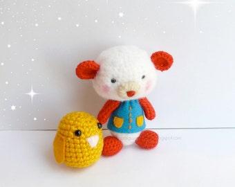 Teddy bear amigurumi crochet, Plush bear. crochet amigurumi Teddy Bear. toys