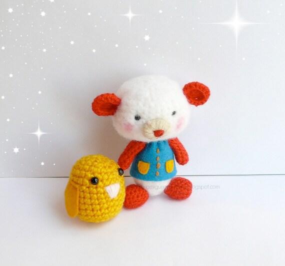 Amigurumi Teddy Bears : Items similar to Teddy bear amigurumi crochet, Plush bear ...