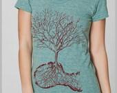 Dust Women's T Shirt American Apparel Tee Shirt  S, M, L, XL 8 COLORS