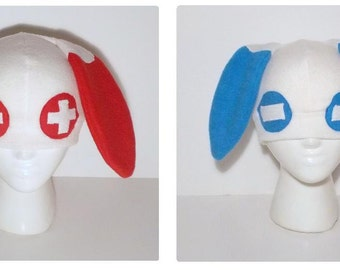 Pokemon Fleece Plusle and Minun Hat Set