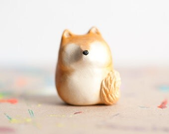 Le Shiba Inu Fat-Fat Totem - Made to Order Pocket Totem