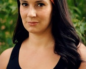 Tangerine Tile Turban Wrap Headband