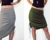 Convertible maxi skirt, adjustable skirt, Versatile Skirt