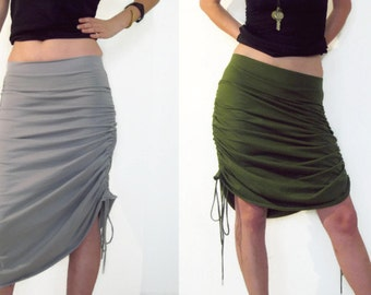 Convertible maxi skirt, adjustable skirt, Versatile Skirt