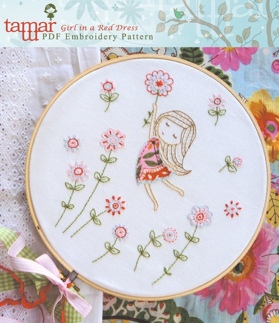Embroidery Pattern Instant Download Needlecraft By