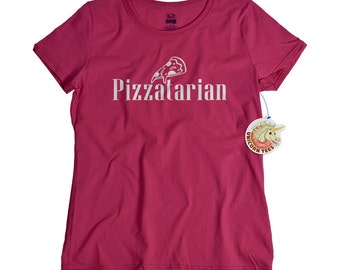 Mothers Day Gift for Mom Who Loves Pizza - Cute Pizzatarian Tshirt for Women -  Mother's Day Gifts