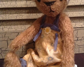 Mohair Bear by Audrey Howell of 2 Friends