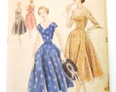 Vintage 1950s Vogue Pattern 8530 Size 14