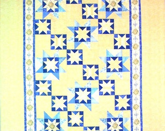 Goodnight Stars Twin Quilt - 63in X 84in