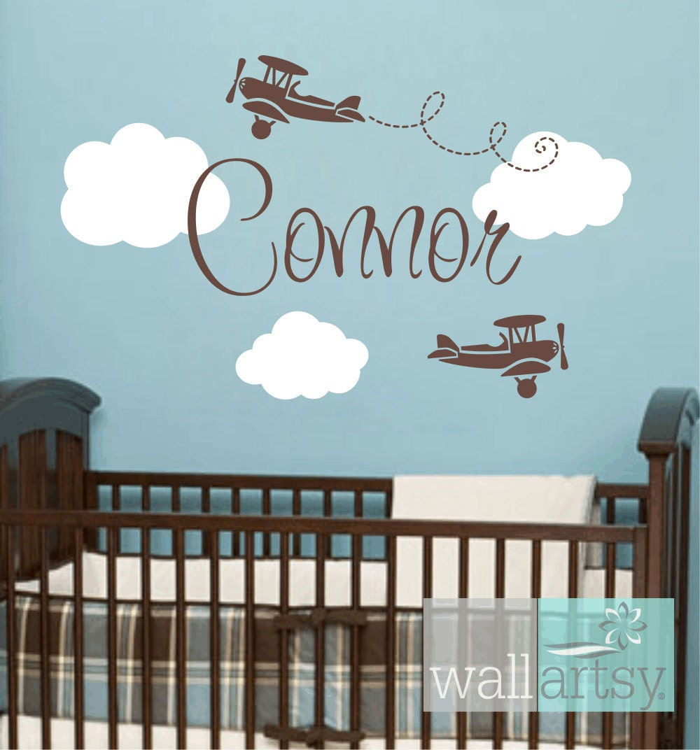 Aeroplane Wall Decals Elitflat