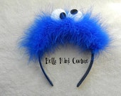 Custom Couture Cookie Monster Headband
