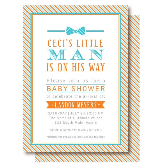 tie baby shower invitations little man invitation little gentleman