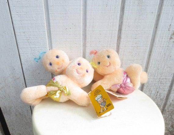80s Toy Dolls : Vintage s toy hugga bunch plush doll