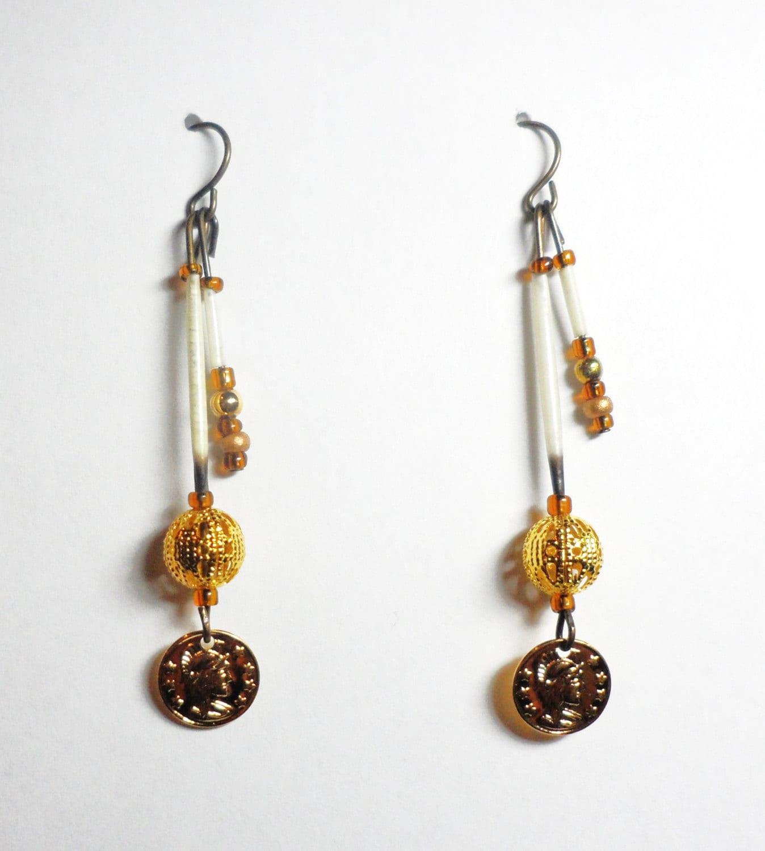 Porcupine Quill Jewelry Handmade Alaska...