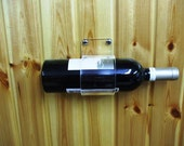 Single Wine Bottle Wall Hanging Mount Holder Stand Display