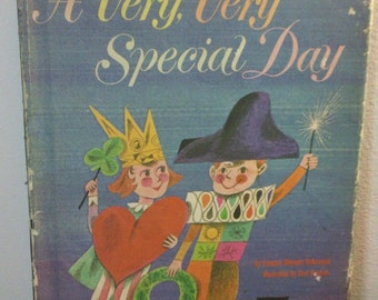A Very, Very Special Day by Frances Ullmann DeArmand ~ illustrated by Tom Vroman - vintage 1963 children's book from Parent's Magazine Press