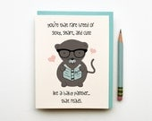 Rare Breed Love Card silly cute funny love greeting card for boyfriend girlfriend husband wife anniversary birthday valentines day