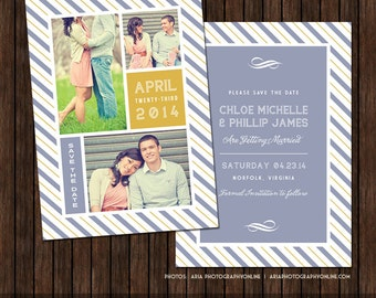 5x7 Save the Date Card Template - S15