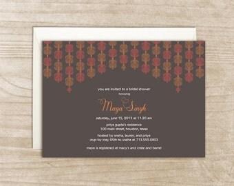 Mandap Pattern Invitation