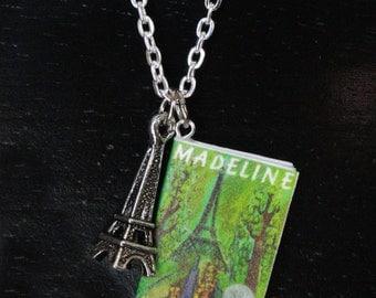 Madeline Mini Book Necklace