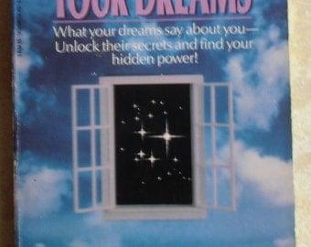 Vintage Paperback / Interpreting Your Dreams by W. Lindsay Jacob, M.D. St Martins 1985