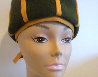 Vintage Hat, Mr. John Ht, Bubble Hat, Green Hat, Made in Italy, Firenze Hat