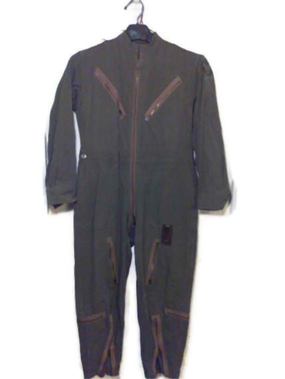 wwii army airforce flying suit vintage clothing u s