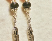 Copper River Feather Earrings