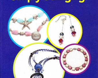Jewelry Making Book: Simply Stringing - Easy Does It Series from Bead Style Products