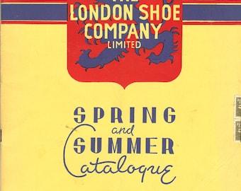 Vintage 1952 The London Shoe Company Spring Summer Catalog