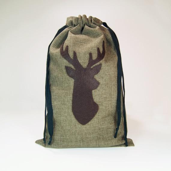 Wedding Gift Bags For Groomsmen : Groomsmen Gift Bag - Deer Wedding - Deer Stag Groomsmen Gift Wrap