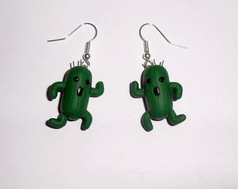 Cactuar earrings