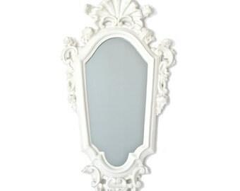 White Italian Mirror
