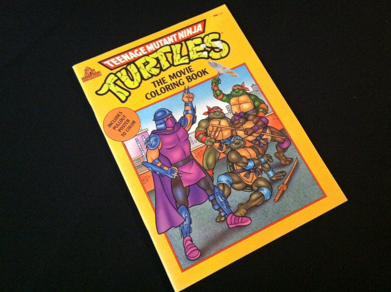 Tmnt Coloring Book New 1990 Teenage Mutant Ninja Turtles
