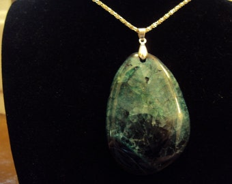 Gorgeous Druzy Geode Agate Pendant Necklace