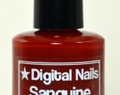 Sanguine: Firefly's Zoe inspired nail polish by Digital Nails