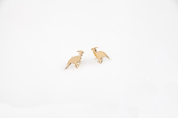 Parasaurolphus earrings