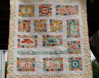 Beach/Summer Themed Quilt or Wallhanging