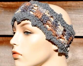 Crochet Headband Pattern Instant Download