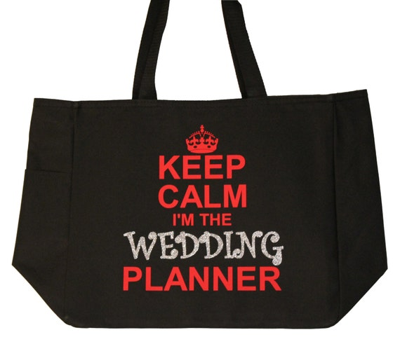 Gift For Wedding Planner: Items Similar To Wedding Planner Gift Keep Calm I'm The