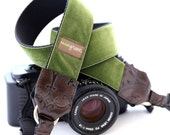 The Hunter Velvet Camera Strap with Quick Release Buckles -- 1.5 inches wide