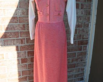 70's full length dress