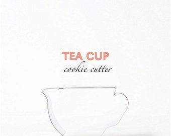 Tea cup Cookie Cutter - Party - Alice & Wonderland - Cookies - Cutom