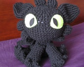 HTTYD inspired Toothless Plush