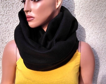 Cozy Fleece Infinity Scarf / Chunky Fleece Cowl / Circular Scarf / Shawl - New Colors Added