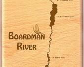 BOARDMAN RIVER MAP Fly Fi...