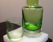 Glass Carafe with Serving Glass